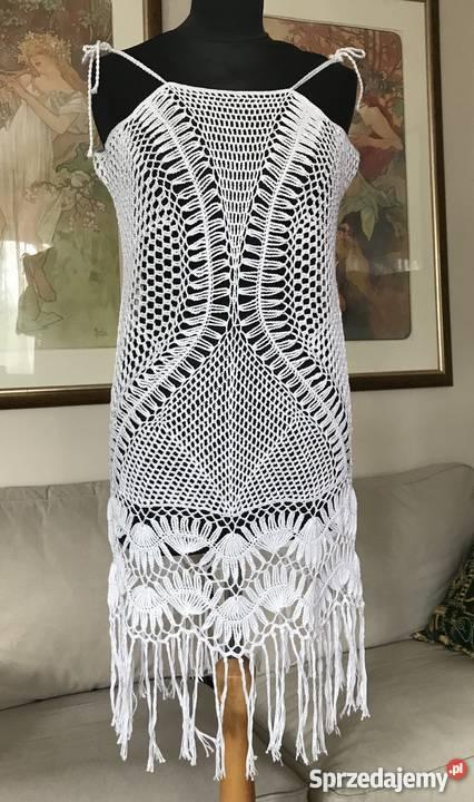 5a78cfe5b6 szydełkowe sukienki - Sprzedajemy.pl