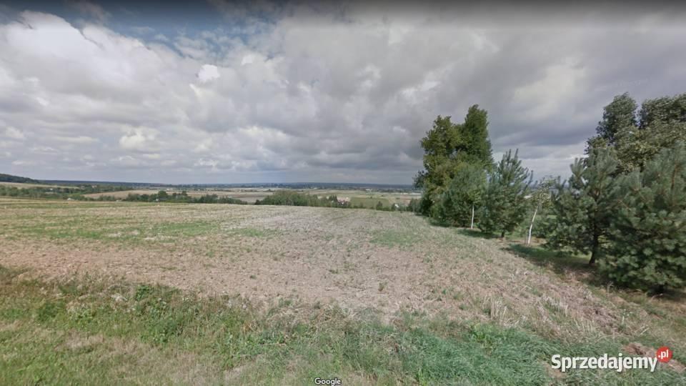 Działka w całości budowlana z widokiem 80 km od Katowic