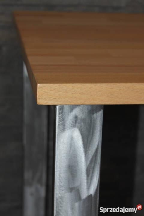 stolik kawowy Loft Industrial styl Metal i