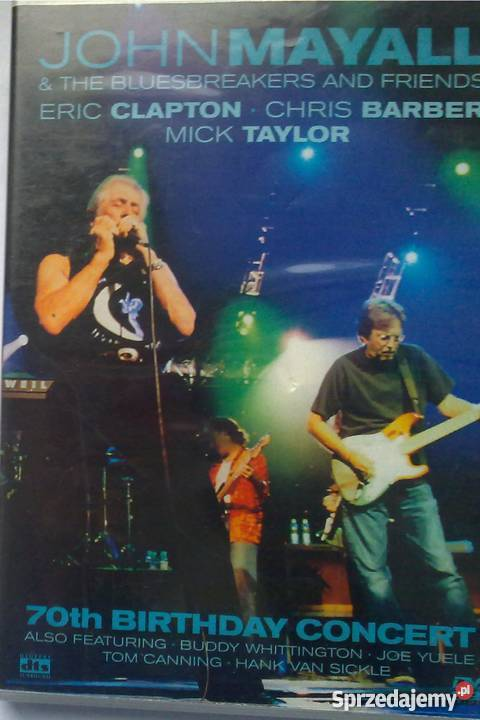 John Mayall 70th Birthday concert Płyta DVD