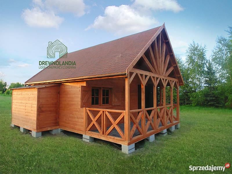 domek letniskowy ogrodowy altana 35 dom drewna Architektura ogrodowa Szczecin
