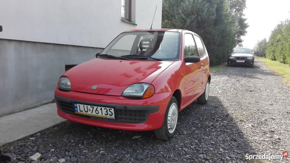 Fiat Seicento LPG stan salon Lublin PT i OC na Motoryzacja Łęczna
