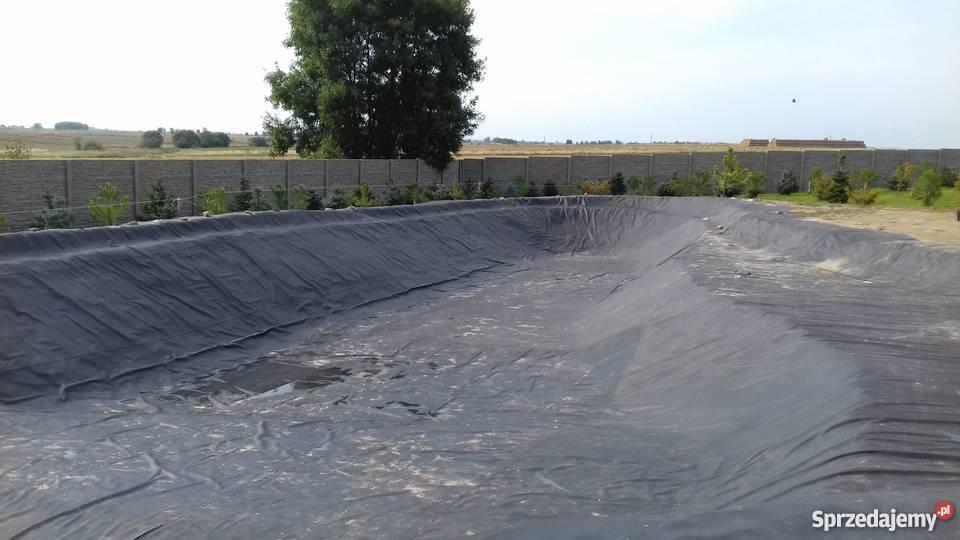 Folia PVC do oczek wodnych stawów Geomembrana gr Ogród łódzkie Rokiciny