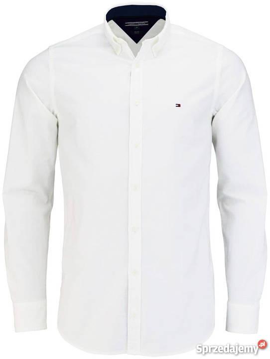 2c3f4b24f5aad0 Koszule męskie TOMMY HILFIGER Slim Fit MXXL 100 mazowieckie Warszawa  sprzedam