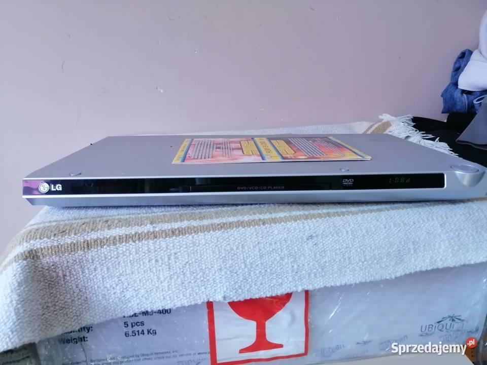 Odtwarzacz DVD LG DVX162