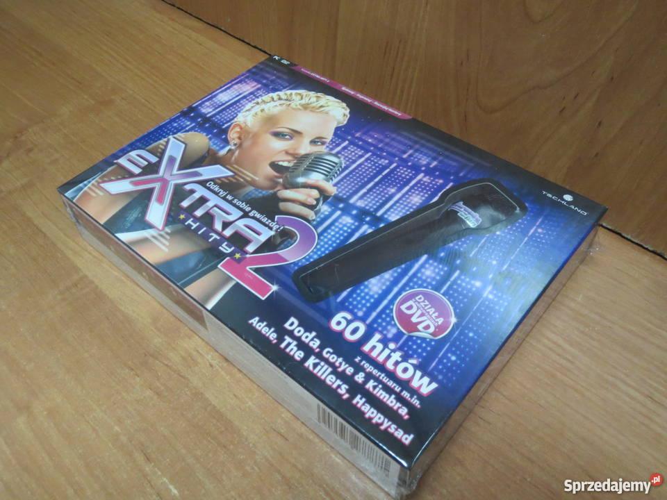 Karaoke for Fun Hity 2 mikrofon PC NOWA Pozostałe śląskie Katowice