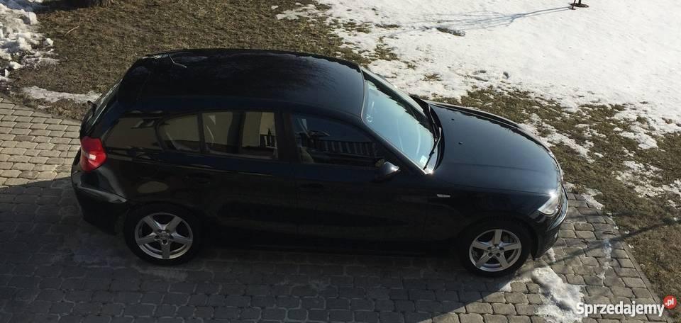 BMW seria 1 116i CZARNY IDEALNY STAN Katowice sprzedam