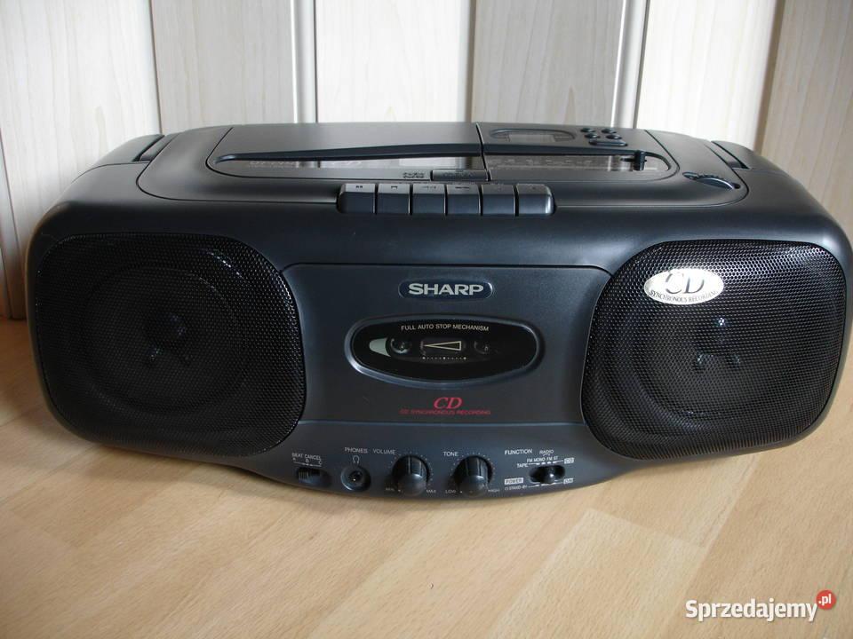 Radiomagnetofon SHARP QT-CD45H