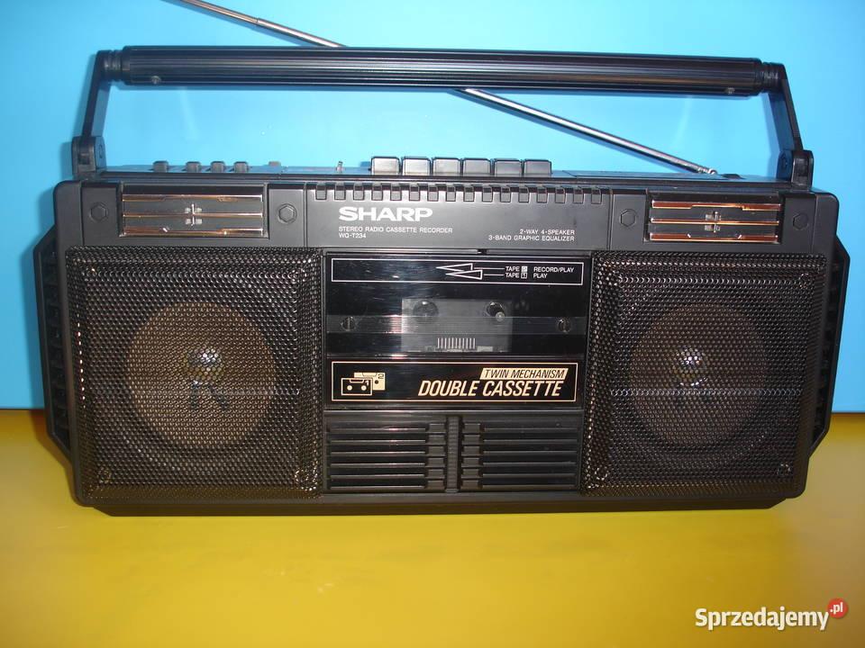 Radiomagnetofon SHARP WQ-T234