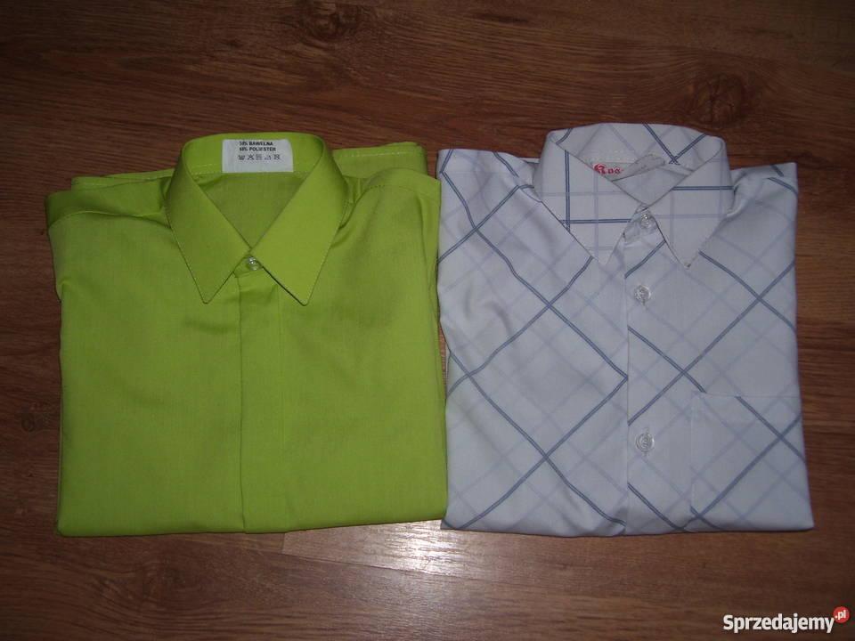 aad673c267894 Bluzka koszula koszule2 do garnituru 110116122 chłopiec Ubrania wizytowe i  koszule Dzierzgoń