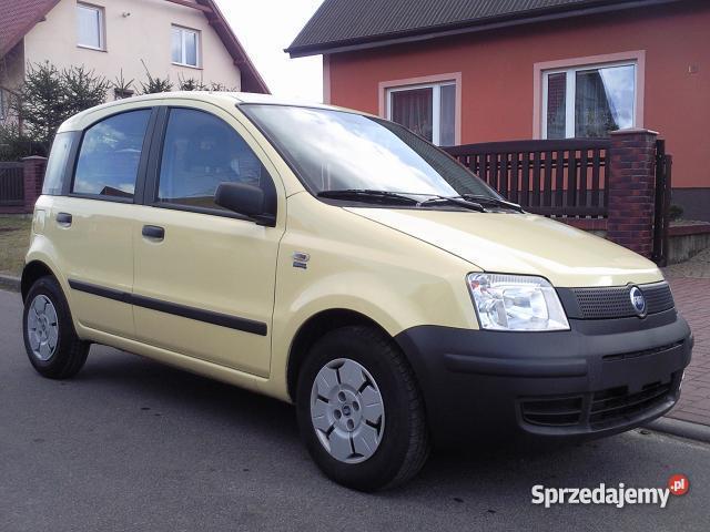 FIAT PANDA 11 WSPOMAGANIE CITY NIEMCY Rok produkcji 2004 sprzedam