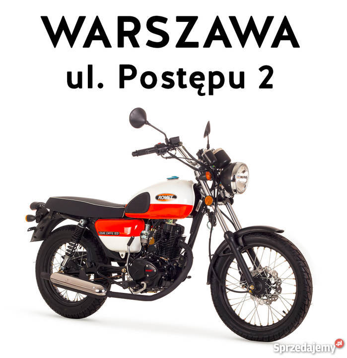 motocykl romet ogar caffe 125 rok 2015 kat b warszawa. Black Bedroom Furniture Sets. Home Design Ideas