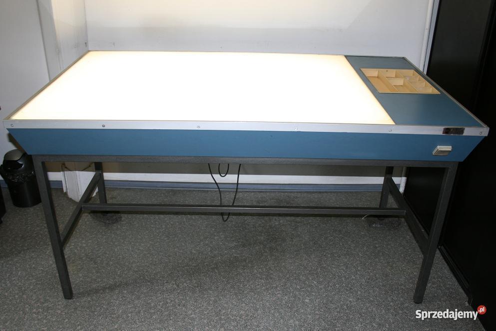 Stół montażowy podświetlany Poznań