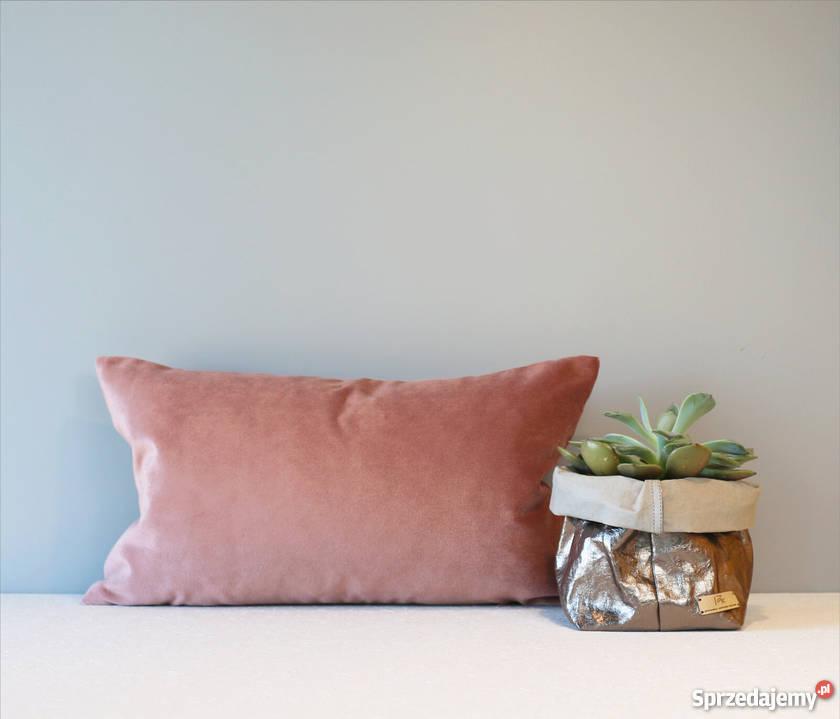 Poduszki Ozdobne Dekoracyjne Do Salonu Sypialni Ciemny Róż