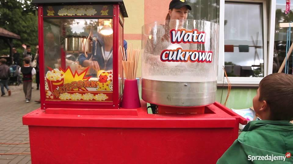 Wata cukrowa Popcorn wynajem Wrocław