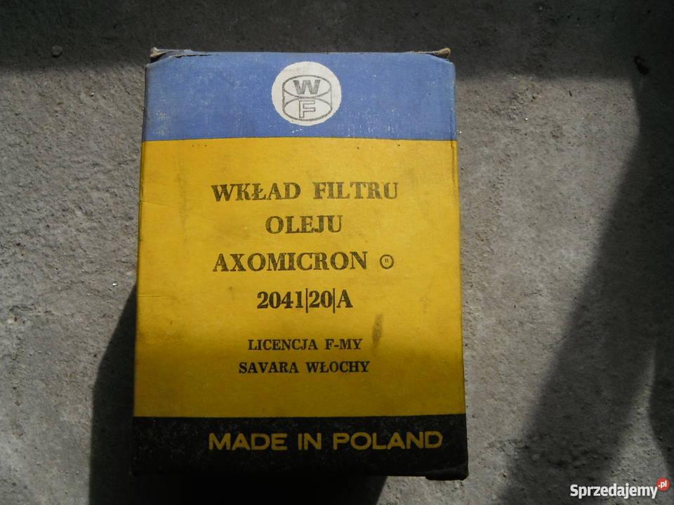 Filtr oleju 204120A do Warszawa Star Gaz Wołga Filtry mazowieckie