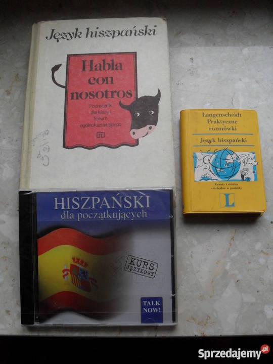 Hiszpański 3 pozycje mazowieckie Warszawa
