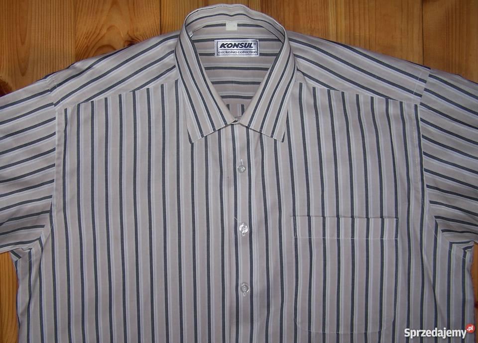 Koszula z krótkim rękawem Konsul Białystok Sprzedajemy.pl