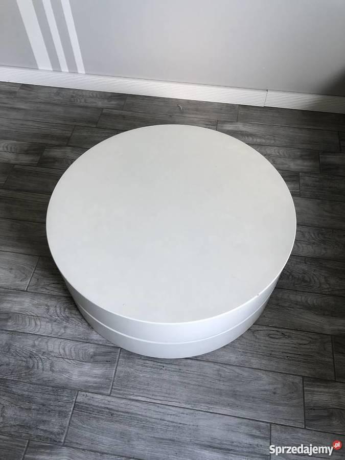 Unikalne Biały Okrągły Stolik Kawowy Mp51 Renaissance