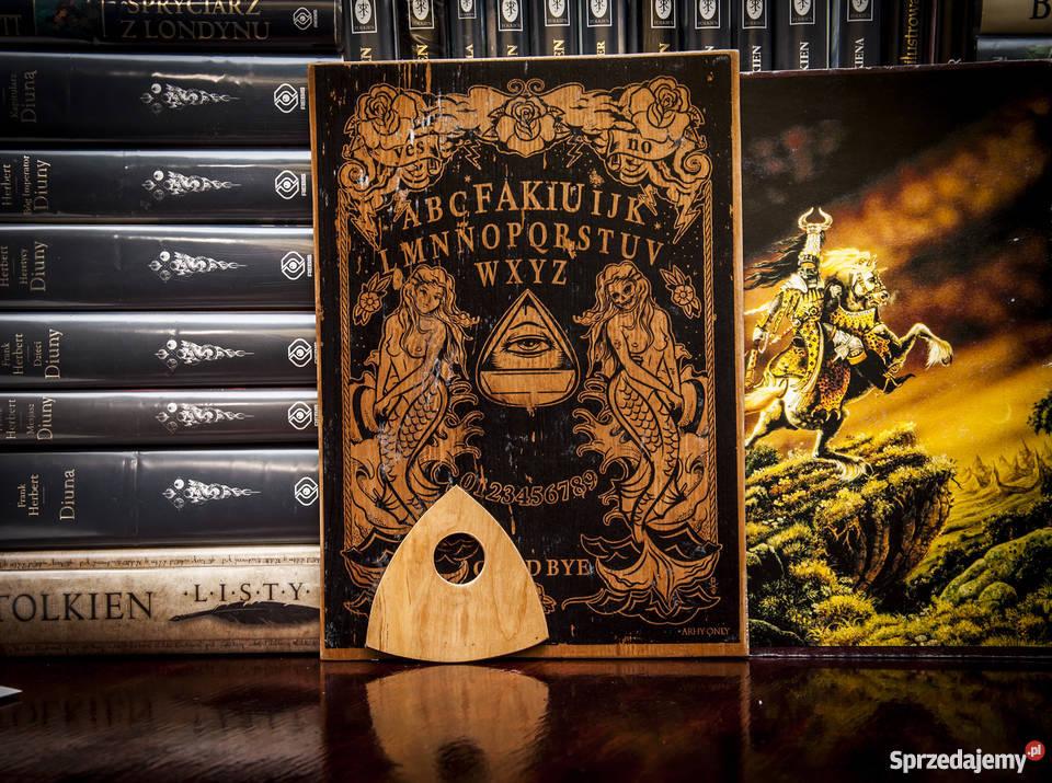 Tablica Ouija wywoływanie duchów halloween Towarzyskie
