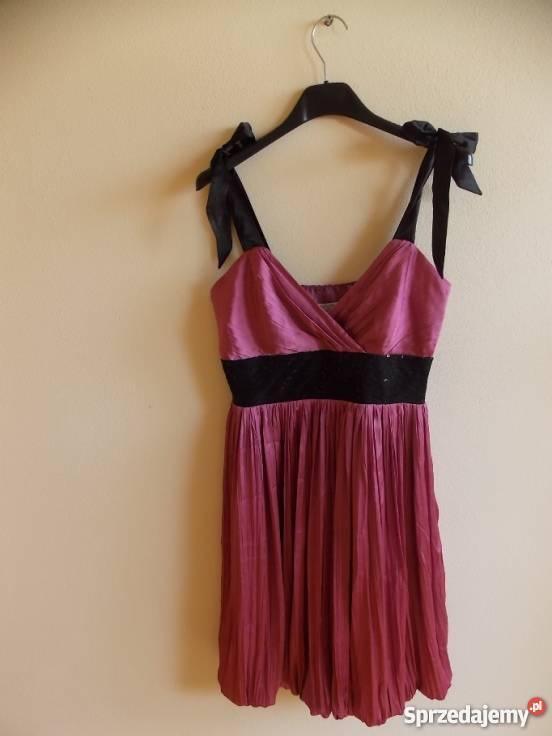 f977c18f2d3c3 Jagodowa sukienka S Świerklany sprzedam