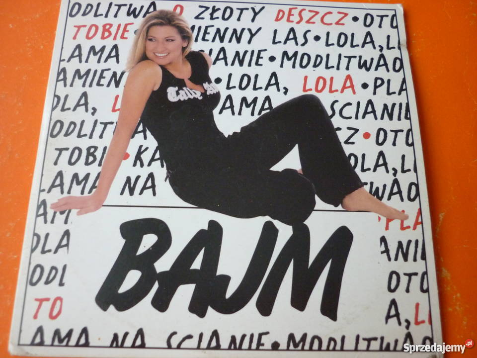 Płyta CD Bajm Lola Modlitwa o złoty deszcz Plama CD sprzedam