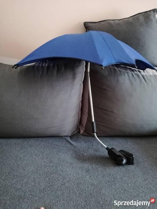 Parasolka do wózka dziecięcego granatowa Lubin
