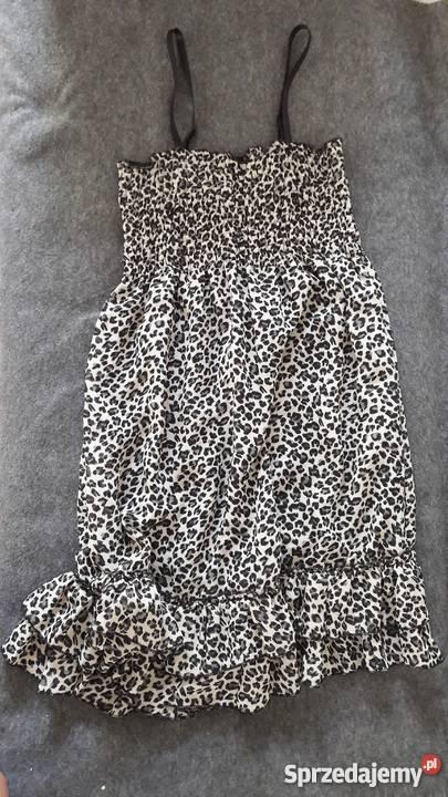 a185d248 Letnia sukienka w panterkę New Yorker, rozmiar 38