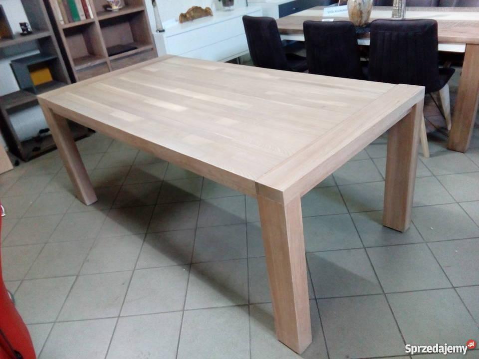 Nowoczesny Stół Rozkładany Drewniany Habufa