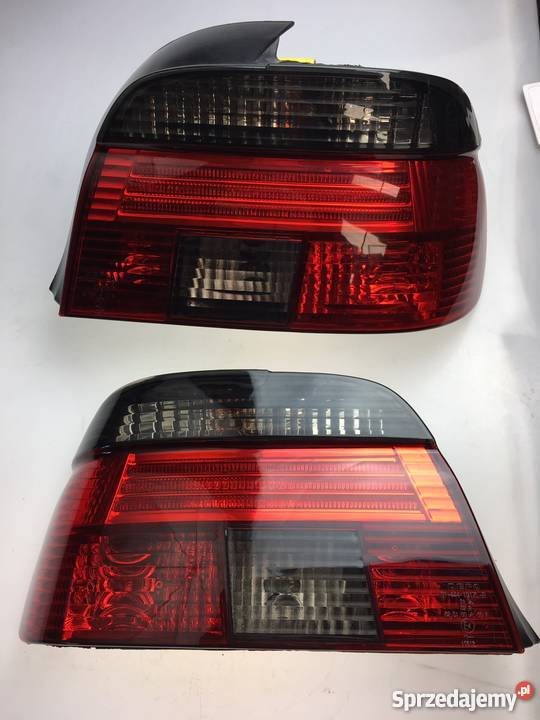 Lampy Tylne Komplet E39 Przyciemniane Depo Lampa Lewa Praw