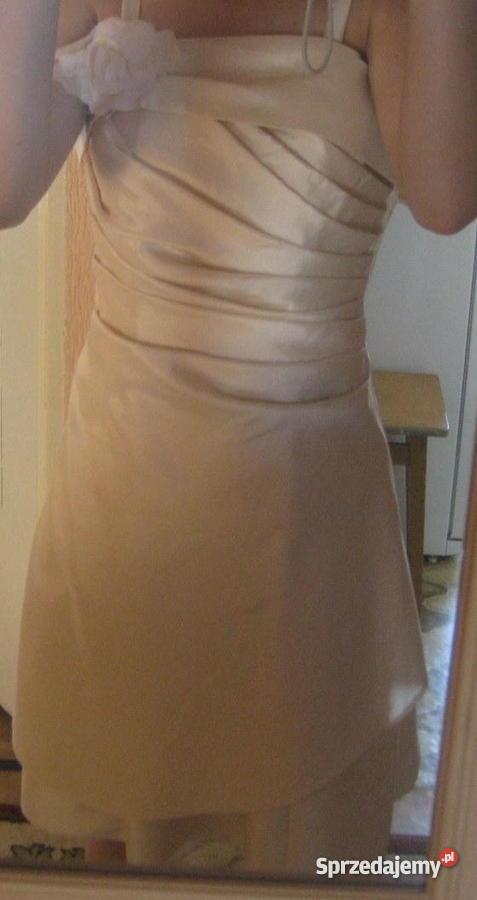 34ea7bef84 Sukienka Beżowa warmińsko-mazurskie Giżycko