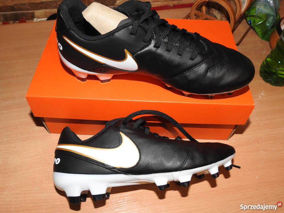 newest ecc2b ede2a Buty sportowe Nike Tiempo korki w rozmiarze 385 Piłka nożna Inowrocław  sprzedam