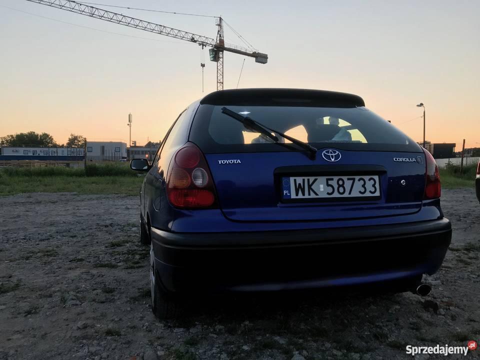 TOYOTA COROLLA 14VVTi Benzyna 2000r Warszawa