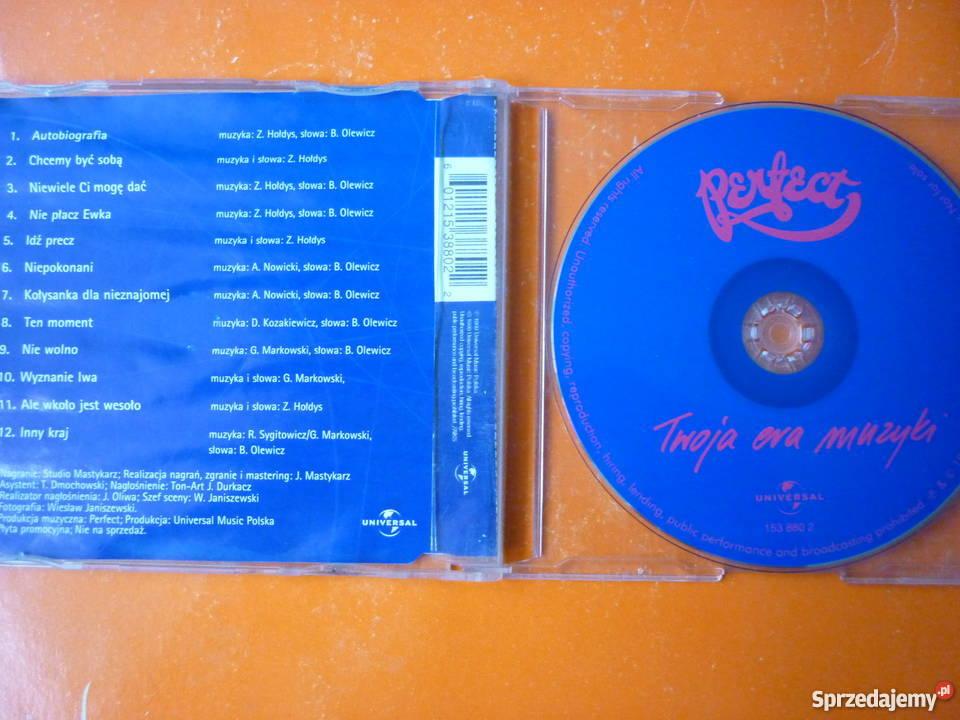 Płyta CD Perfect Twoja era muzyki Grzegorz Płyty i kasety Warszawa
