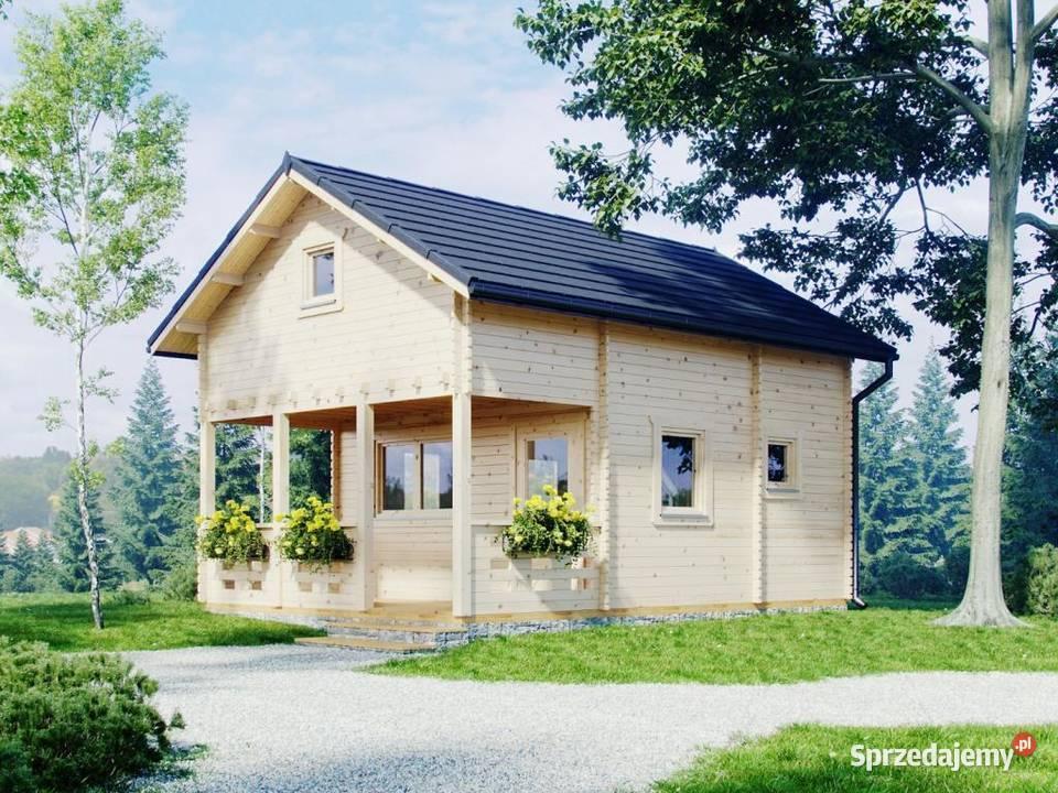 Domki ogrodowe Poznań - domek drewniany na działkę ROD