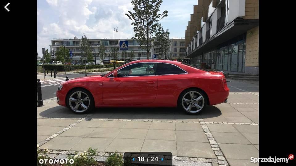 Audi A5 Sline Coupe Super Stan i wygląd Idealny wspomaganie kierownicy Warszawa