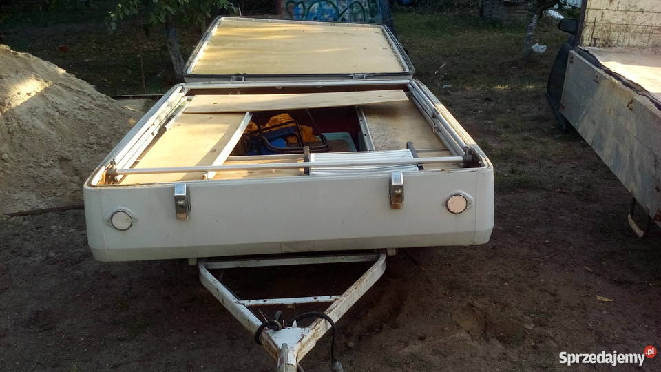 Poważnie Przyczepa namiotowa skif. Szczecinek - Sprzedajemy.pl EN14