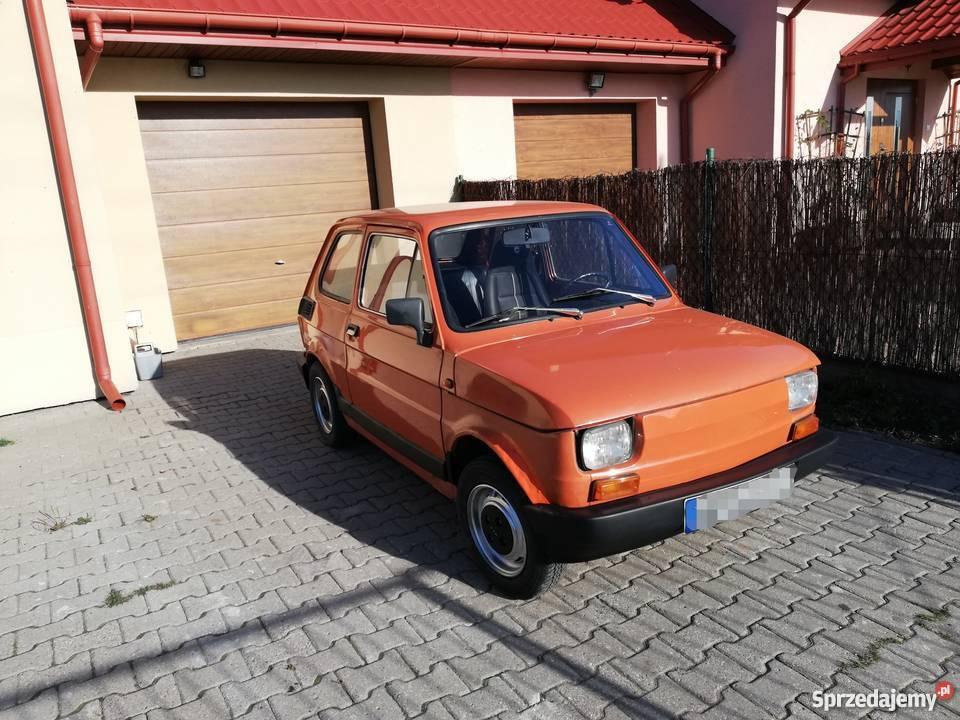 Fiat 126p 1985r kupiony w Polsce Piotrków Trybunalski
