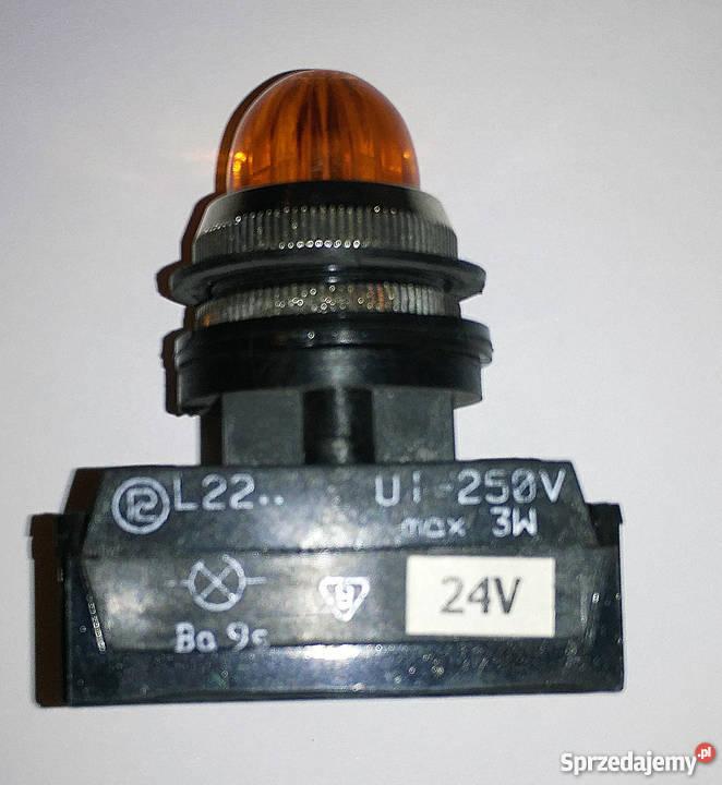 Uniwersalna diodowa lampka sygnalizacyjna L22Dc Warszawa