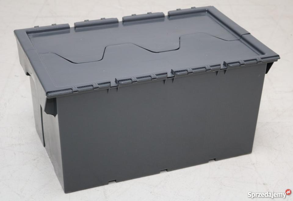 Modish Pojemnik magazynowy z pokrywą 60x40x30cm Dzierżoniów - Sprzedajemy.pl OG93