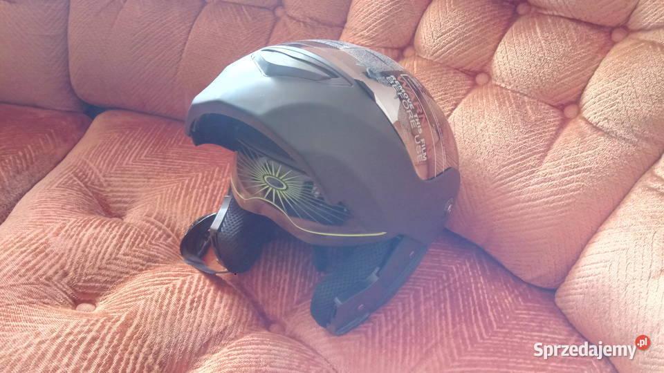 Kask motocyklowy XL