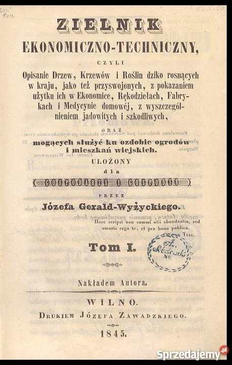 J. Gerald Wyżycki - ZIELNIK Ekonomiczno Techniczny T1 i T2