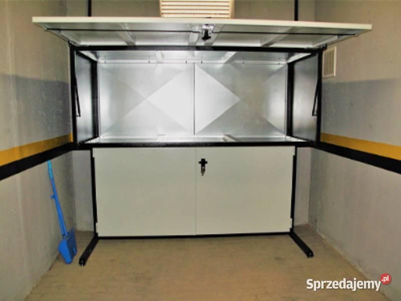 Szafa garażowa poj. 2650l szafa metalowa box garażowy boxy