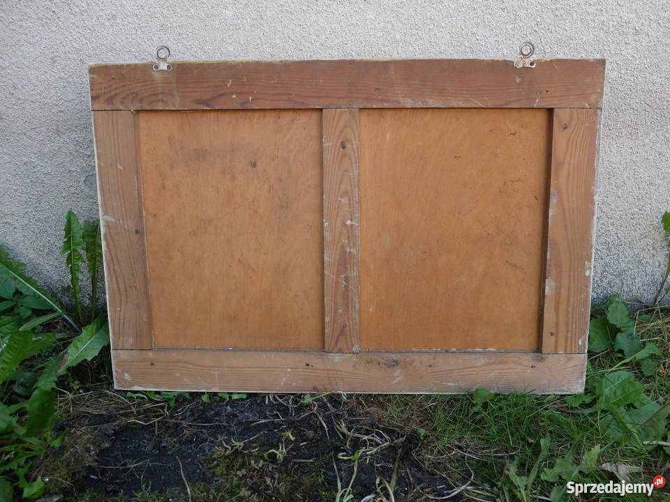 Drewniana Szafka Z Lat 5060 Do łazienki 578