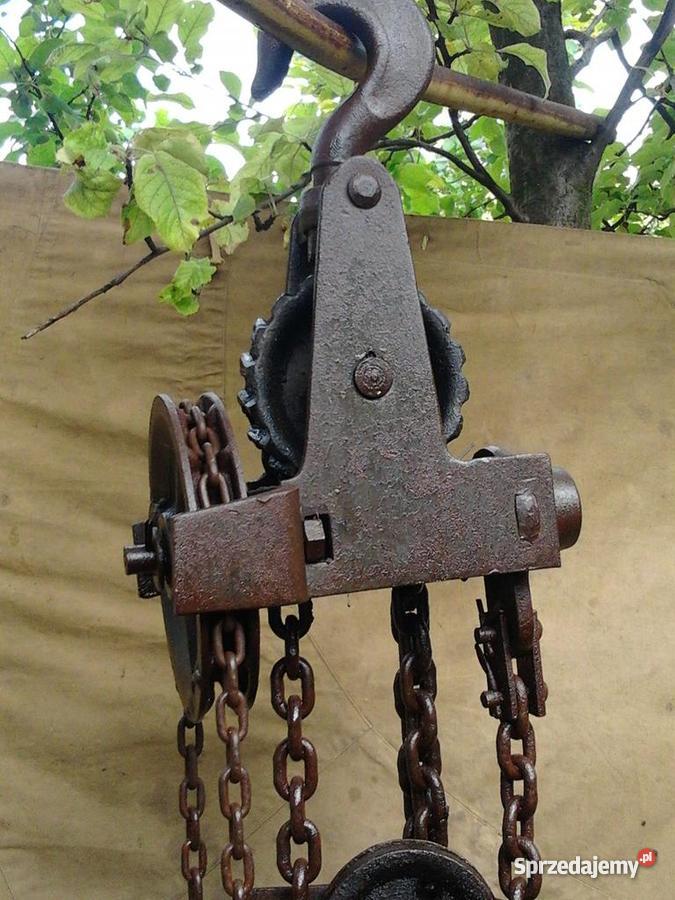 Wciągarka łańcuchowa lubelskie Chełm
