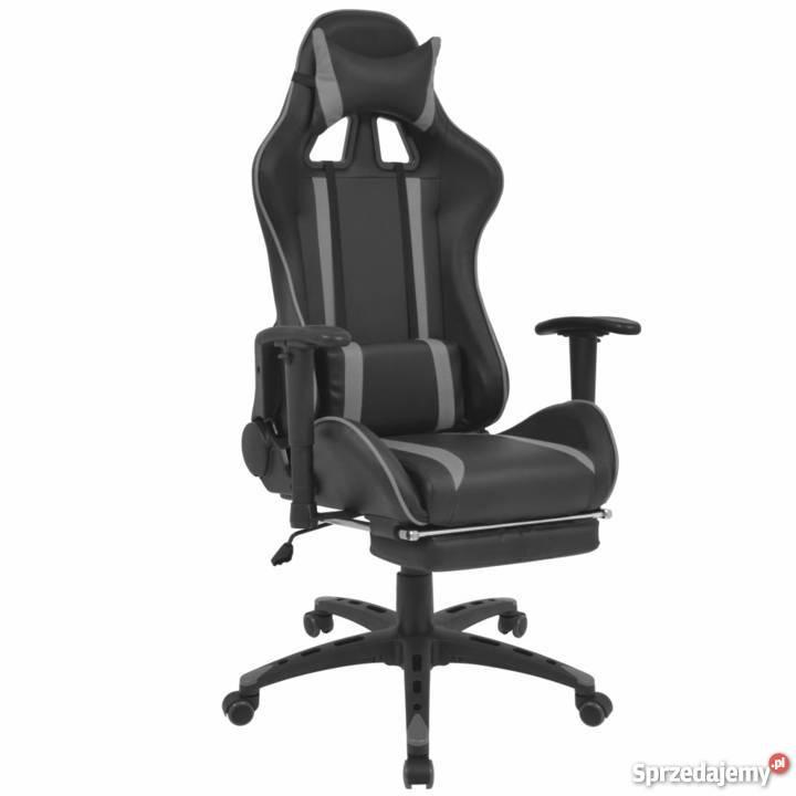 Vidaxl Regulowane Krzesło Biurowe Z Podnóżkiem 20170