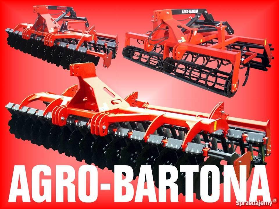 Agregat uprawowo-siewny AGRO BARTONA PRODUCENT !!