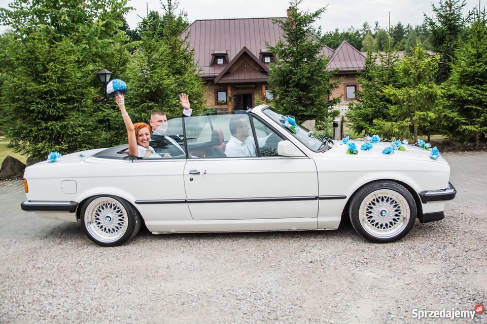 Auto do Ślubuwesele BMW E30 cabrio mazowieckie Warszawa