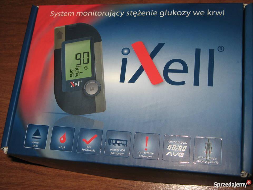 Glukometr ixell nieużywany