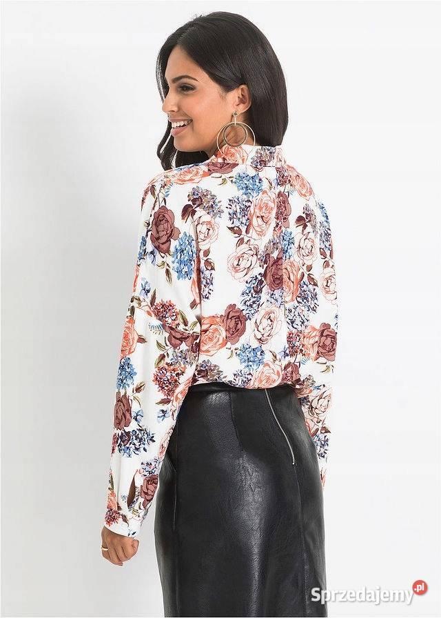 B.p.c. koszula w kwiaty w luźnym stylu 40 Warszawa  pRb1p